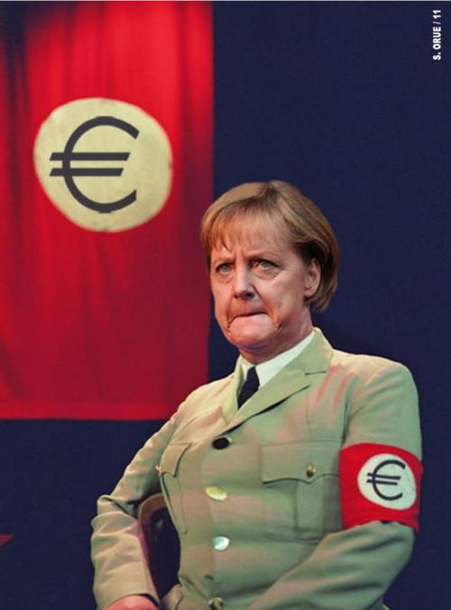 Merkel-nazi-euro