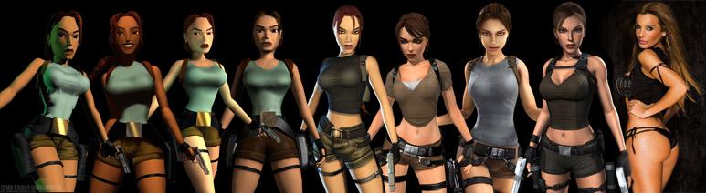 La evolución de Lara Croft: De los cuatro píxeles a Sonia Monraider