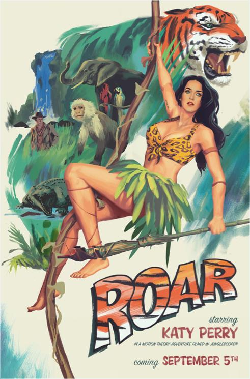 Roar, el amazonas según Katy Perry – El Cajón Desastre