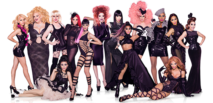 rupauls drag race season 6 cast