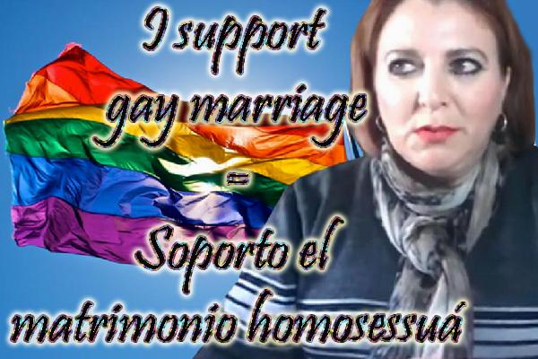 No solo apoya a los homosexuales, sino que hace sus pinitos en la lengua de Chespeer