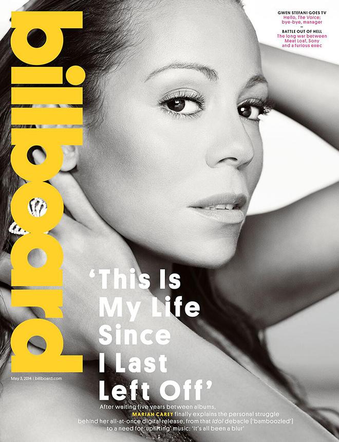 Mariah, triunfal en la portada de Billboard a base de vender humo