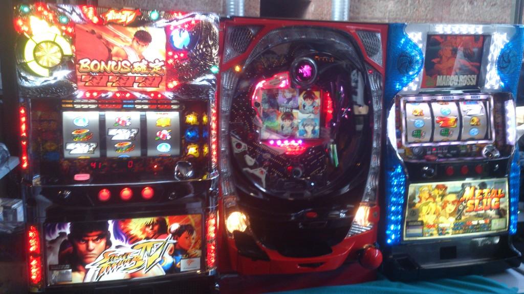 Tragaperras japonesas basadas en videojuegos. Eso es generar mercado.