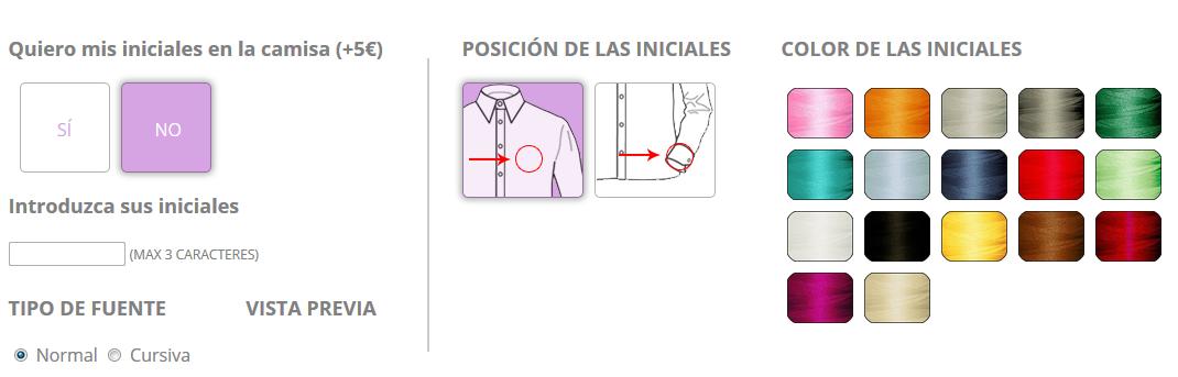camisainiciales