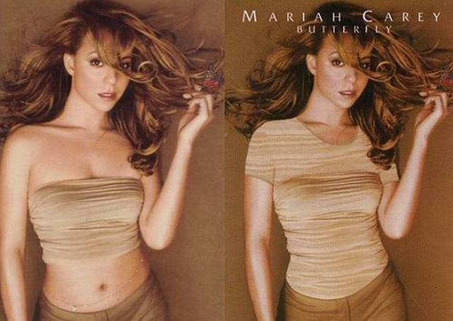 Então censurar capas de álbuns no Oriente Médio Disaster El Cajon Nirvana Rihanna shakira Mariah Carey Kylie Minogue Lady Gaga Katy Perry Demi Lovato britney spears Christina Aguilera