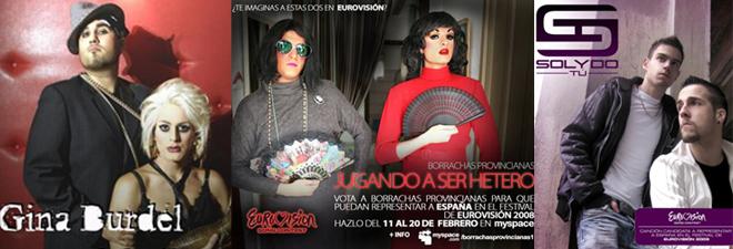 Travestis que intentaron representar a España en Eurovisión