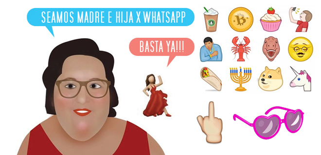 New emoji: Serving Mother-Daughter  realness
