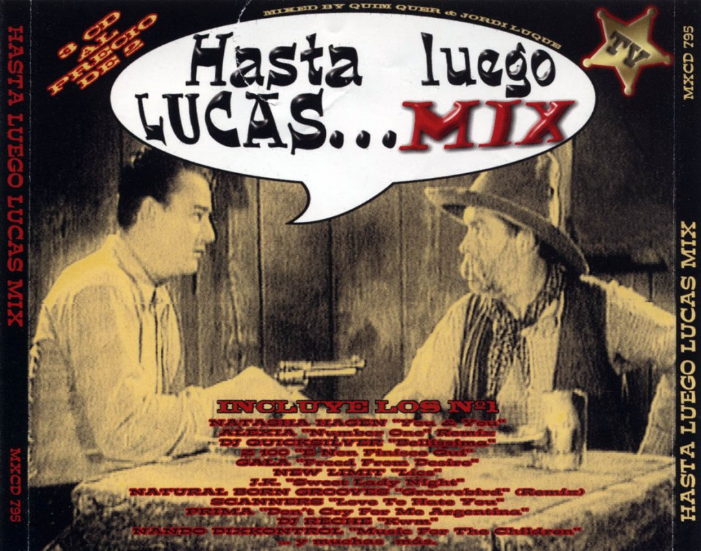 Hasta Luego Lucas Mix frontal