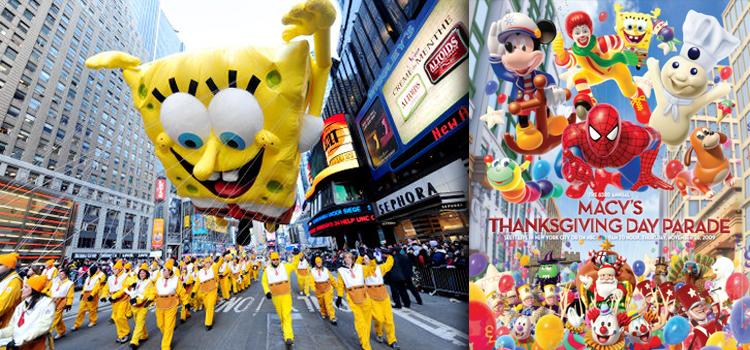El desfile anual de Acción de Gracias... !Que alguien lo importe ya!