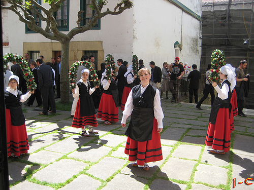 Flamante interval act del Festival de Eurovisión celebrado en Portugal.