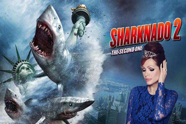 Yurena no quiere ni oir hablar de Sharknado que le ha arrebatado el puesto de la obra audiovisual mas famosa del verano.