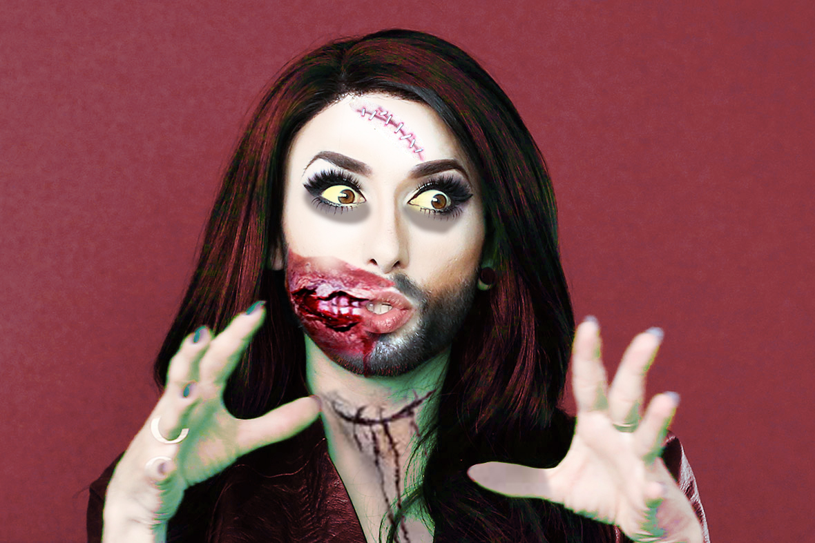 CONCHITA-WURST-HALLOWEEN