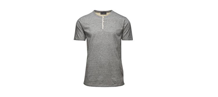 Una camiseta básica gris del zara, 13 años después.