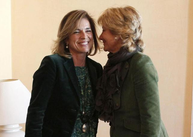 esperanza aguirre alcaldesa madrid