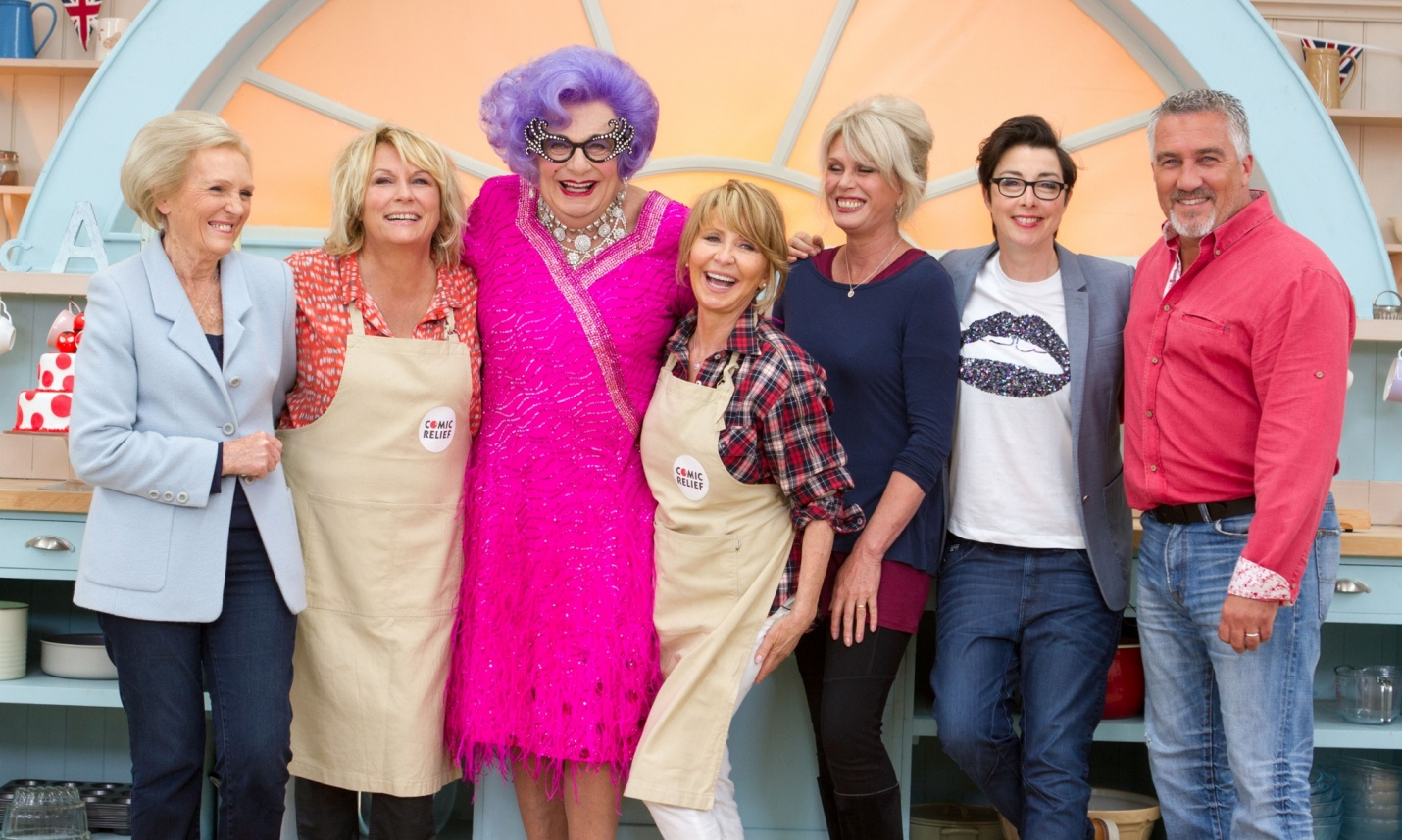 The Great Comic Relief Bake Off (2015)