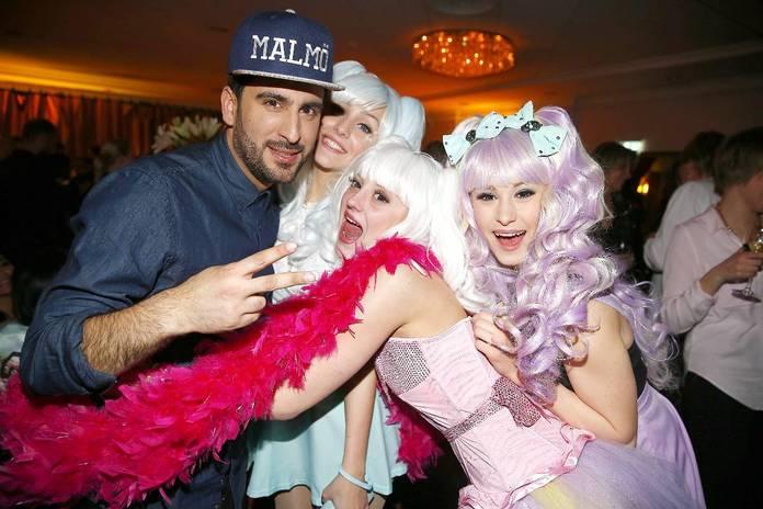 Dolly Style junto al Marzok Mangui sueco.