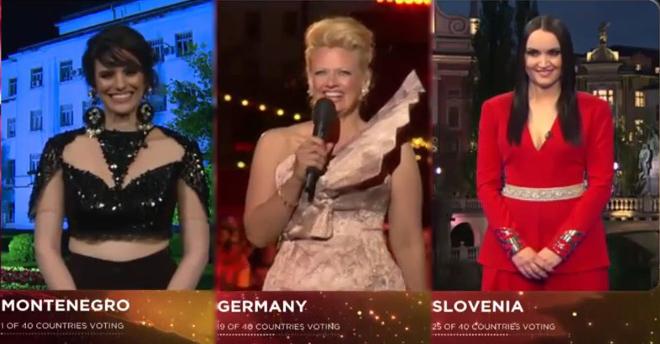 portavoces eurovision 2015