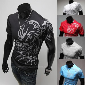 Lowest-Sale-New-Men-s-Fashion-Brand-Chinese-font-b-Dragon-b-font-Phoenix-Wolf-Totems