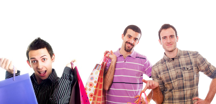Homosexuales deprimidos comprando (para sentirse mejor)